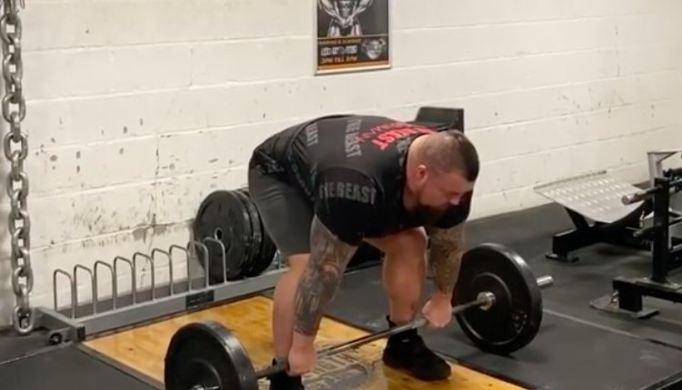 Eddie Hall Trains for Grace