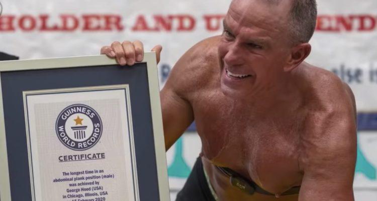 George Hood Plank World Record