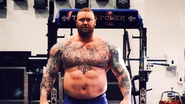 Hafthor Bjornsson Deadlift Reps