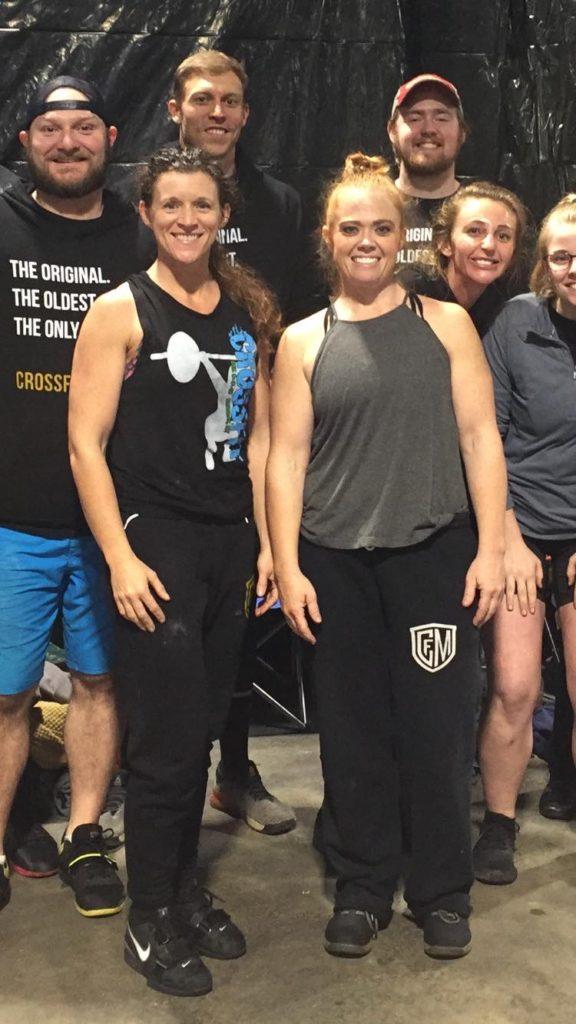 Heather Pivoras competes in CrossFit