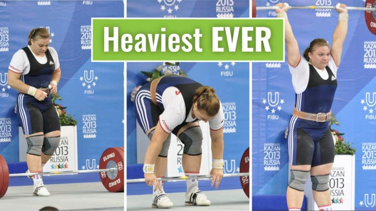 Heaviest Womens Snatch and Clean and Jerk