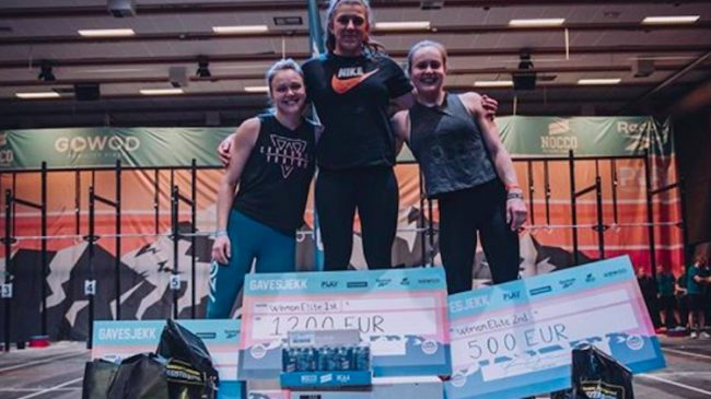 Norwegian CrossFit Championships Womens Podium