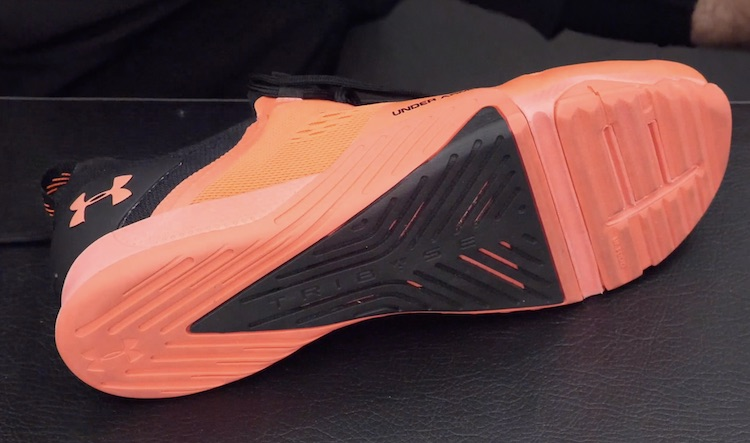 Under Armour TriBase Reign 2 Outsole and Midsole Construction