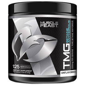 Muscle Feast Pure Betaine Anhydrous Trimethylglycine (TMG) Powder