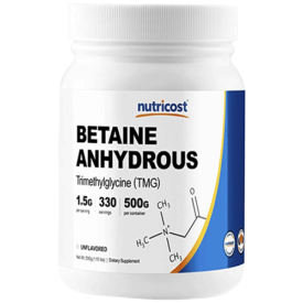 Nutricost Betaine Anhydrous Trimethylglycine (TMG)