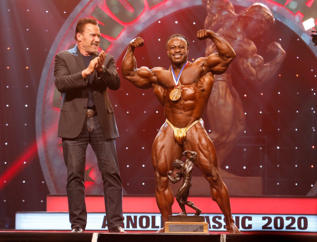 Arnold Classic Champion William Bonac