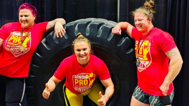 Arnold Strongwoman Contestants