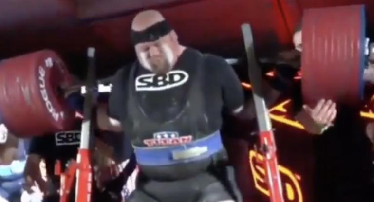 Blaine Sumner 515kg Squat
