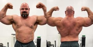 Brian Shaw Front Double Bicep