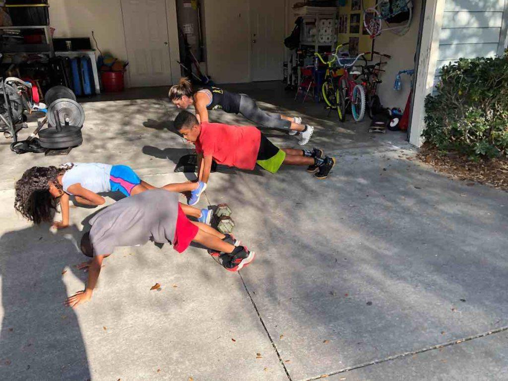 Merricks Family Workout
