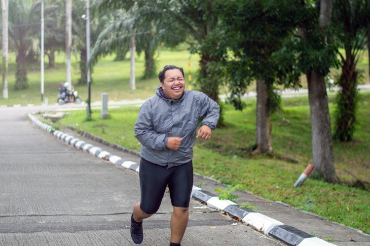 jogging struggle