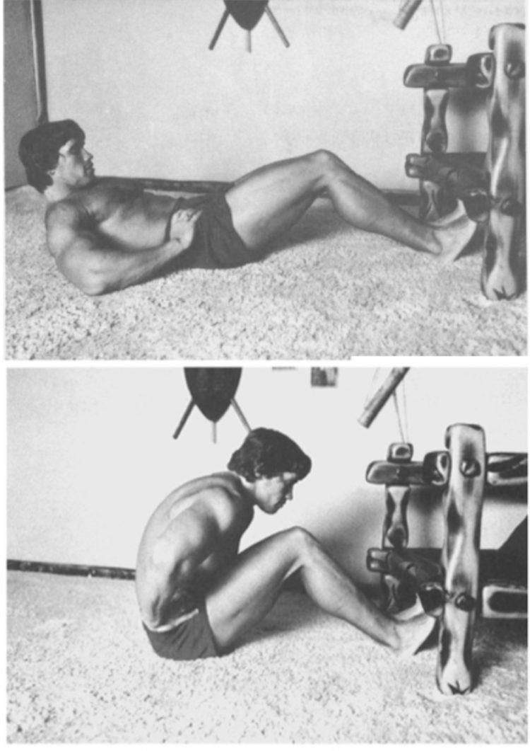 arnold schwarzenegger sit up