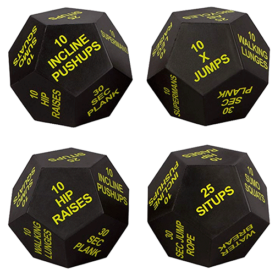 Juliet Page Exercise Dice Multi-Pack