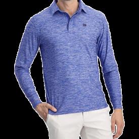 Three Sixty Six Men's Dry Fit Long Sleeve Polo Golf Shirt