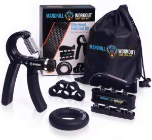 mandrill grip strength