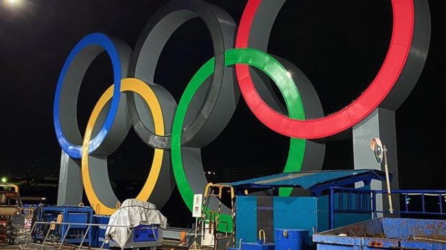 olympics in construction