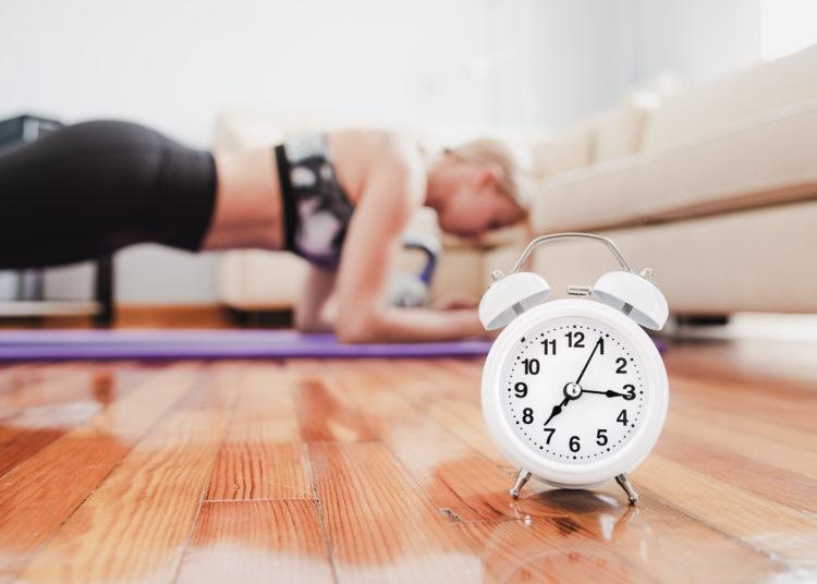 Plank Core Clock