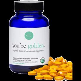 Ora Organic Curcumin Turmeric Supplement