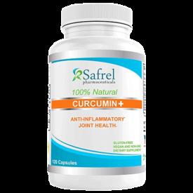 Safrel Pharmaceuticals 100% Natural Curcumin +