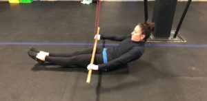 Hollow Hold Lat Pulldown