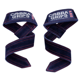 Cobra Grips Suede Leather Deadlift Lifting Straps