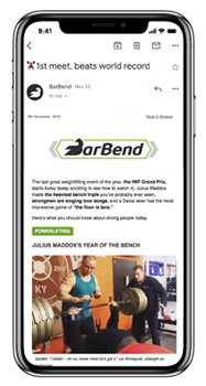 BarBend Newsletter