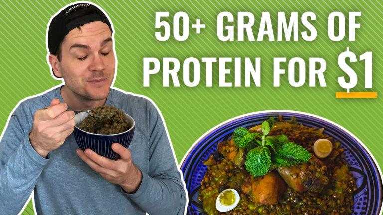 high protein lentil recipe