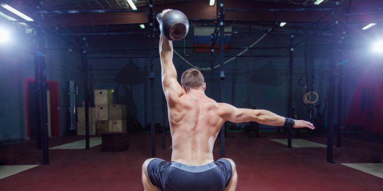 kettlebell overhead squat featured