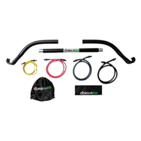 Gorilla Bow Portable Home Gym Resistance Bands and Bar System