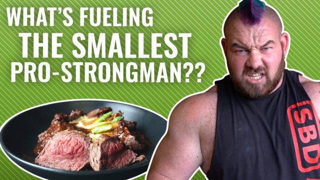 rob kearney strongman diet