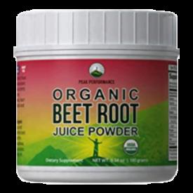 Peak Performance Organic Beet Root Powder