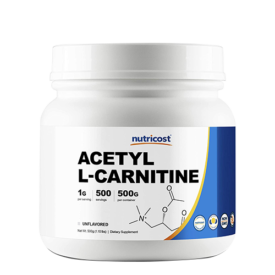 Nutricost Acetyl L-Carnitine (ALCAR) 500 Grams