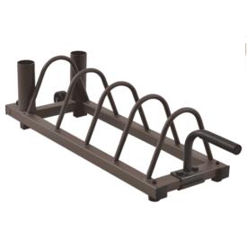 Steelbody Horizontal Plate and Olympic Bar Rack