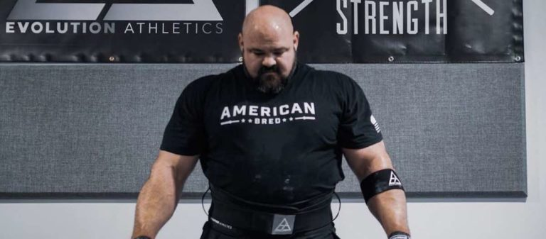 Brian Shaw Training