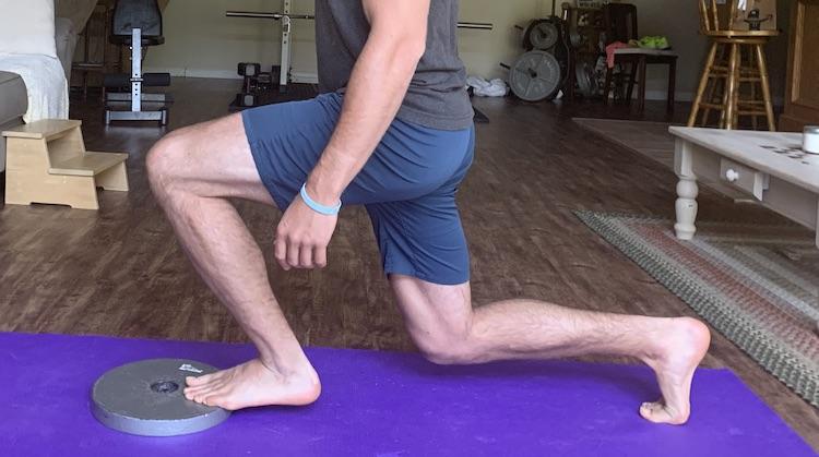 Front Foot Heel Elevated Split Squat