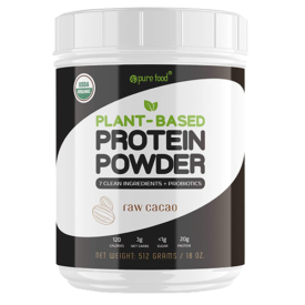 Pure Food Plant Based Protein Powder