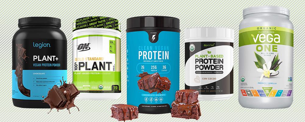 Vegan Protein Powders Featured
