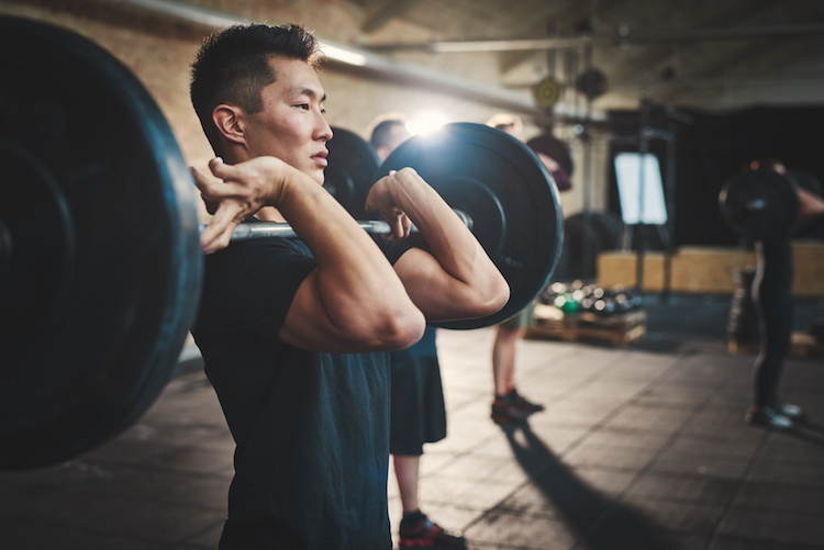 asian man crossfit