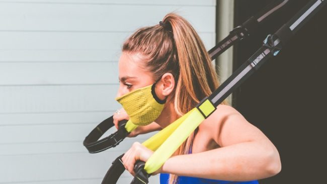 mask workout