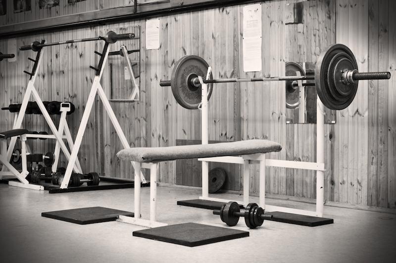 old bench press