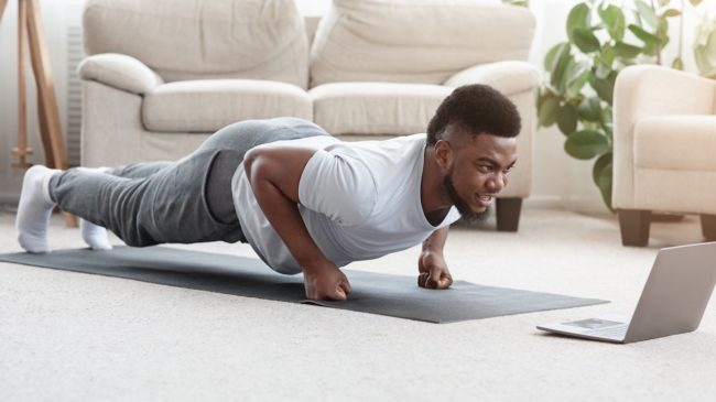 online workouts featured