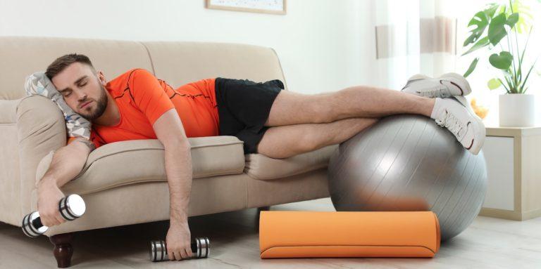 workout motivation sleepy
