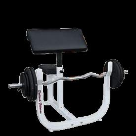 Deltech Fitness Preacher Curl Bench