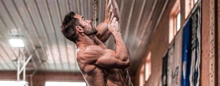 Rich Froning Rope Climb
