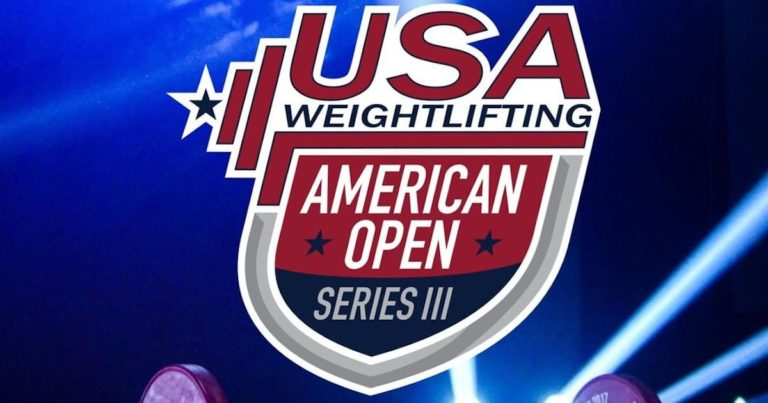 USA Weightlifting American Open Series 3 To Move Online