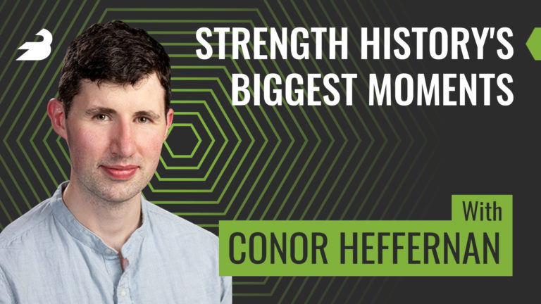 Conor Heffernan History of Strength BarBend Podcast