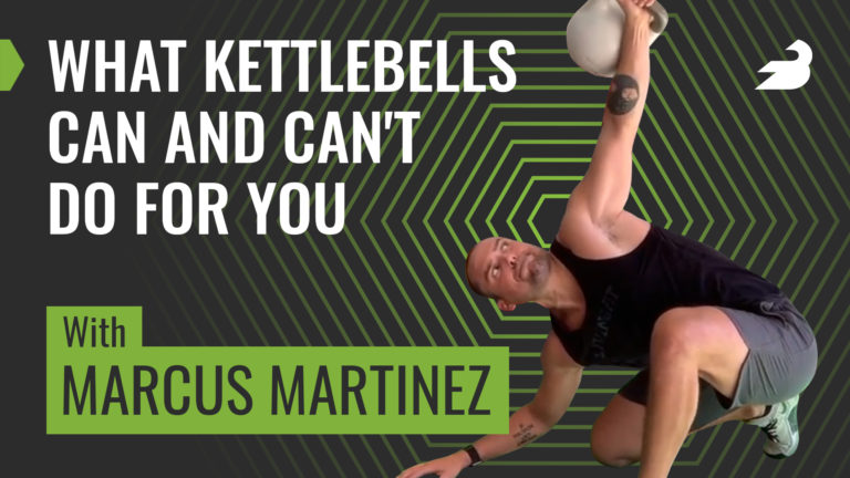 Marcus Martinez Kettlebell Exercises BarBend Podcast