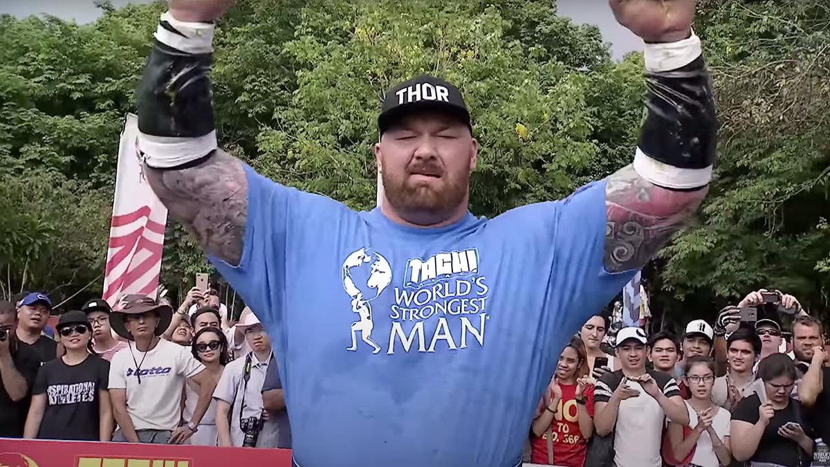 Thor winning 2018 World's Strongest Man