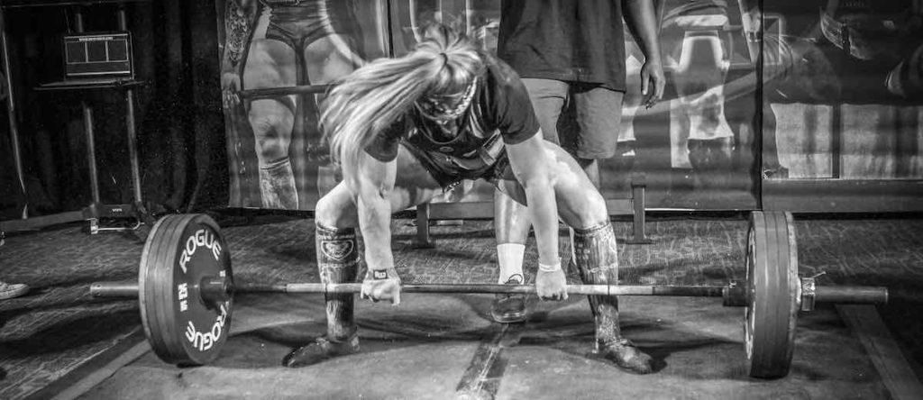 Powerlifter Chloe Lansing