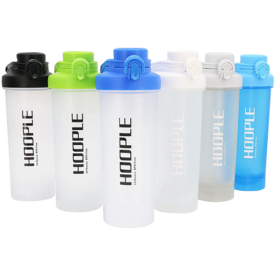 Hoople Protein Shaker Bottles 4 Pack